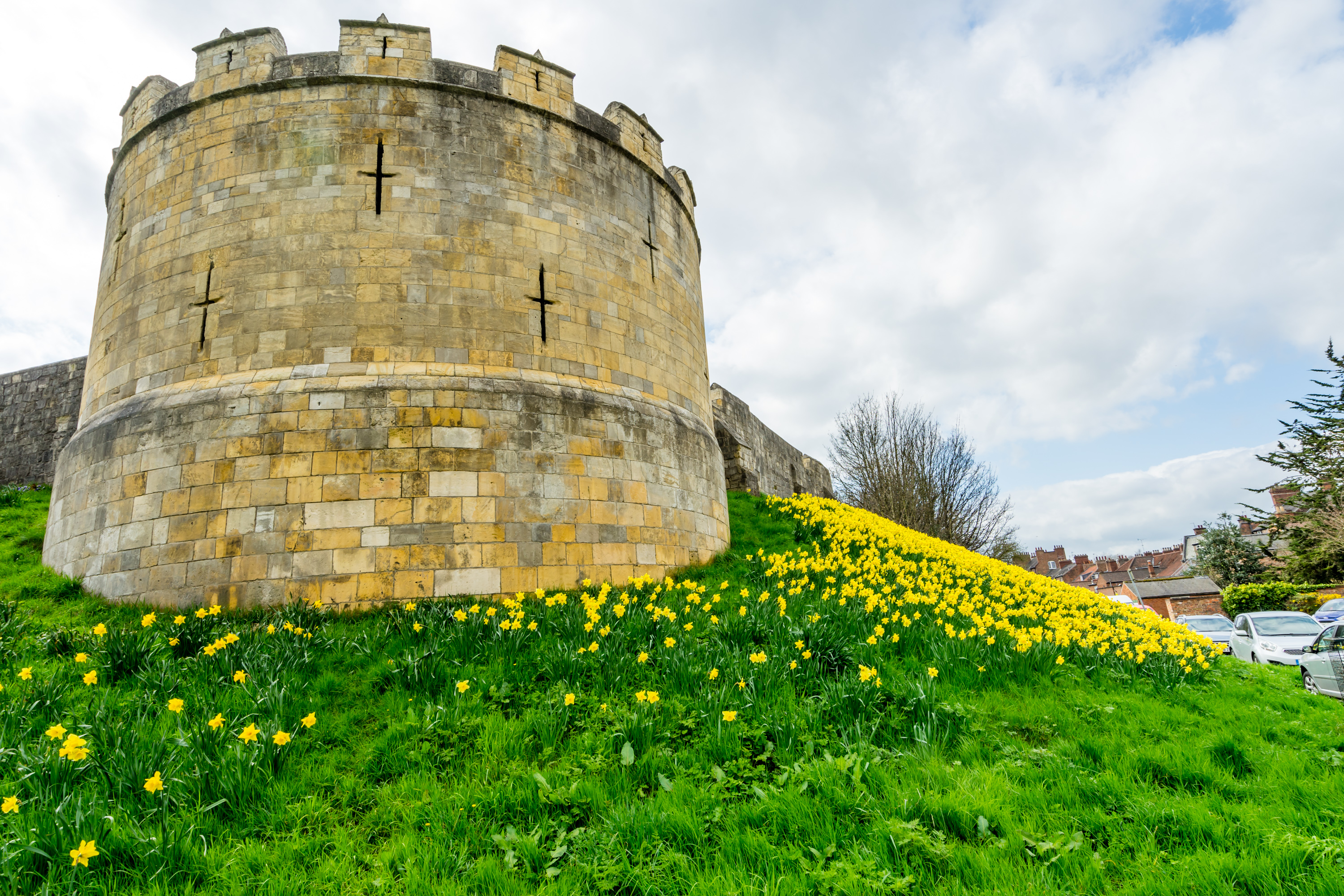 View of the Walls showing why you should buy a property in York